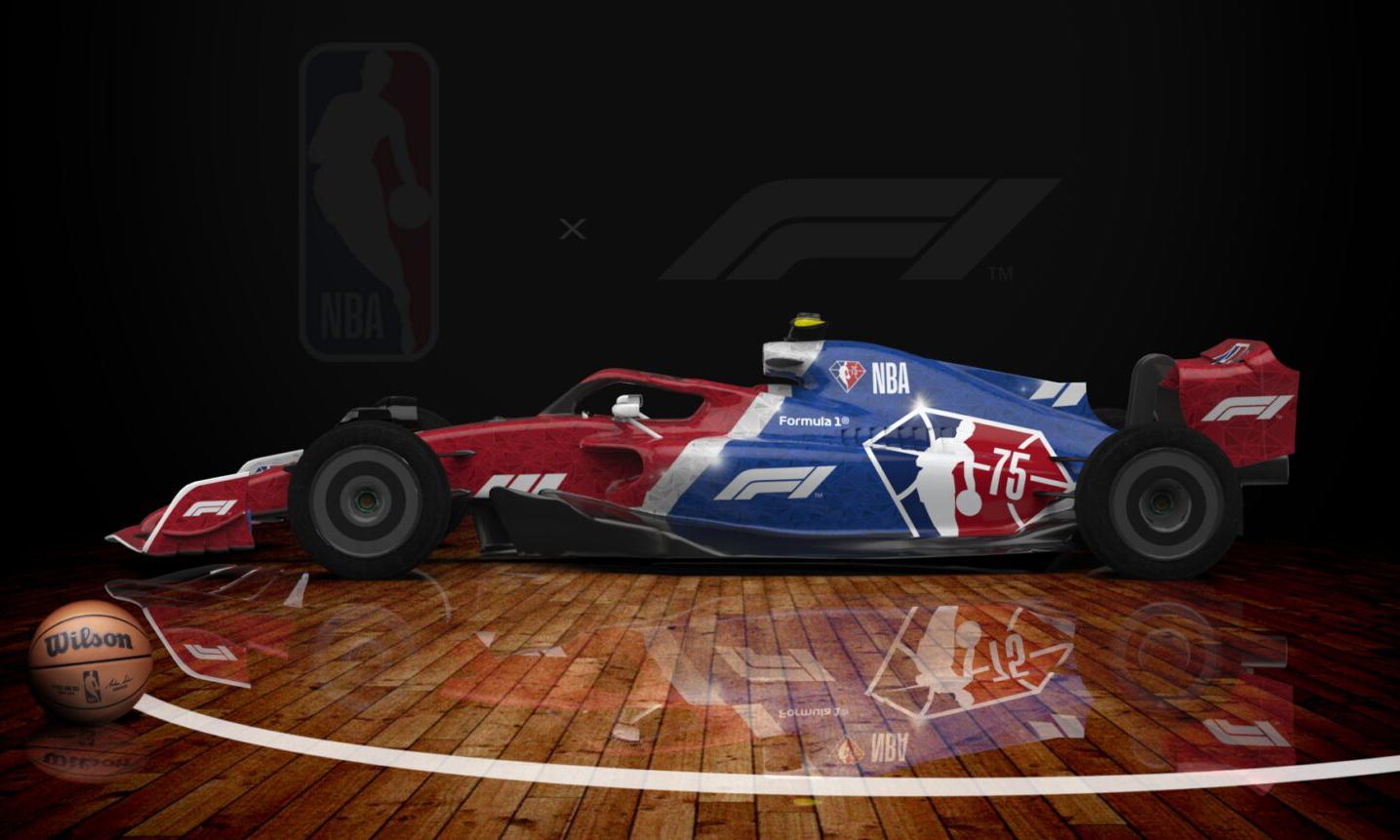 NBA 和 Formula 1® 建立合作伙伴关系