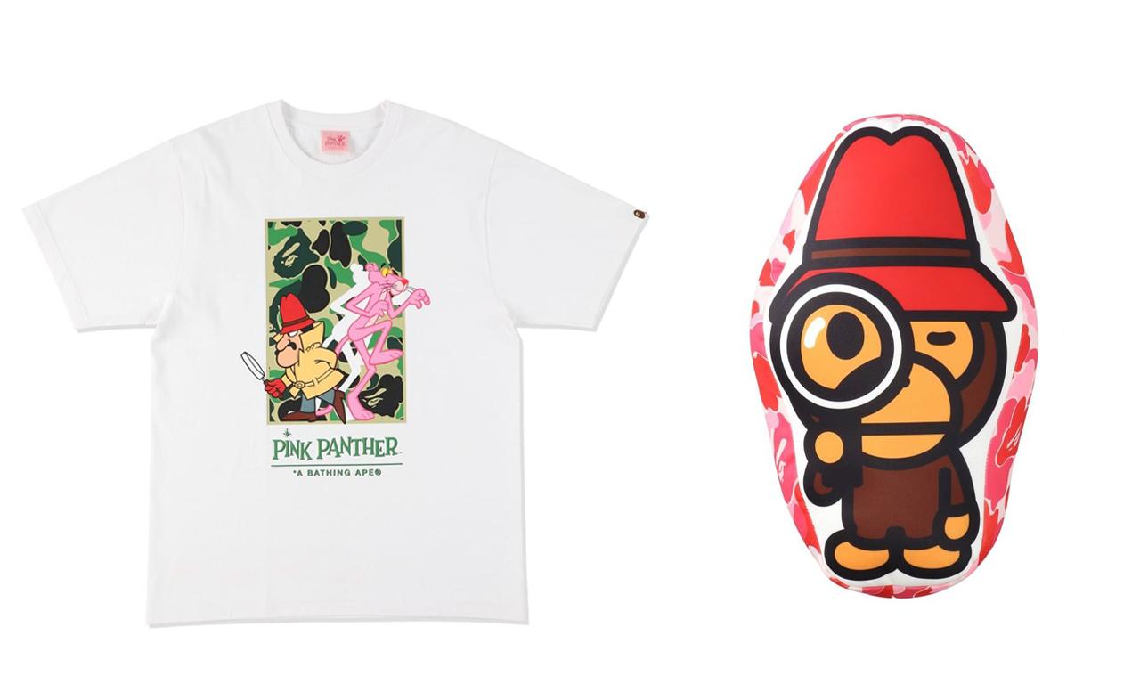 BAPE® x Pink Panther 联名系列即将发售