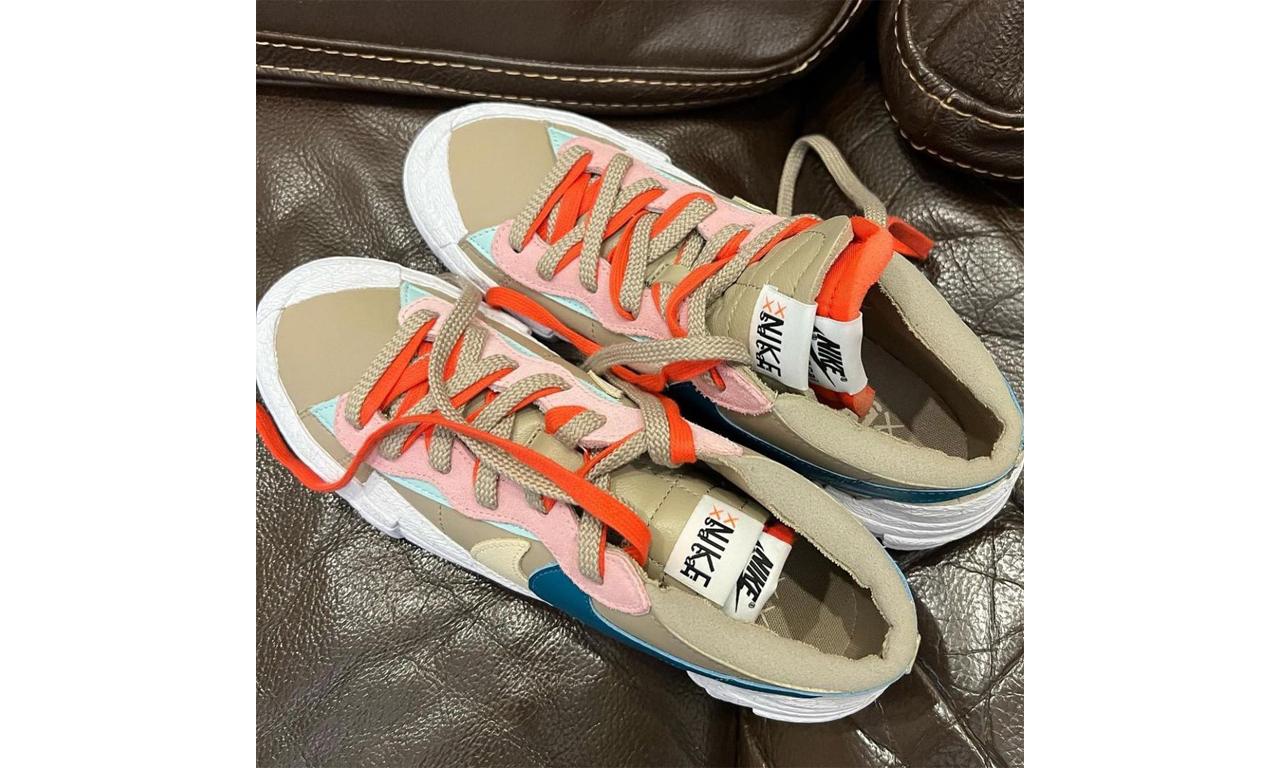 抢先预览 KAWS x sacai x Nike Blazer 全新配色