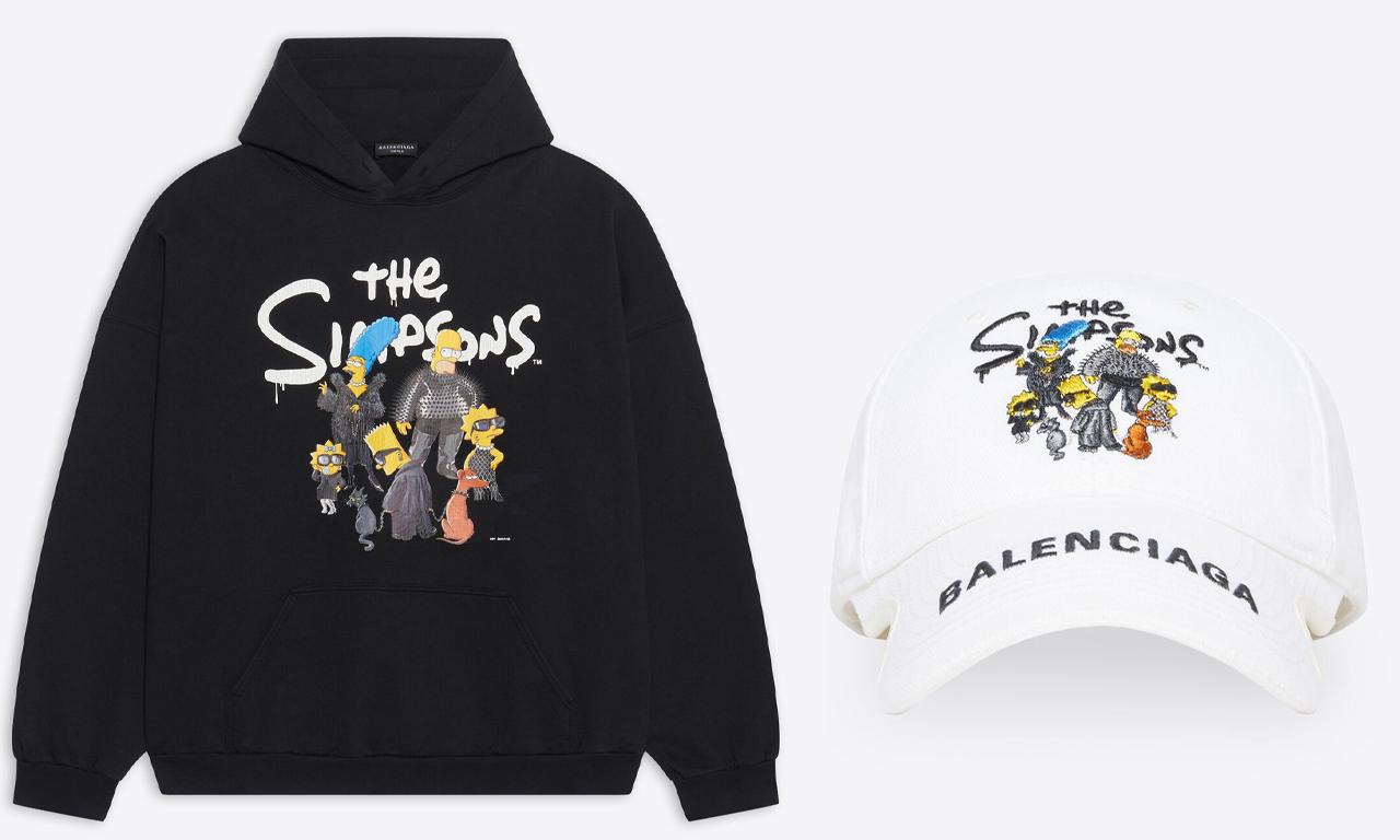 BALENCIAGA x《辛普森一家》联名系列正式开售