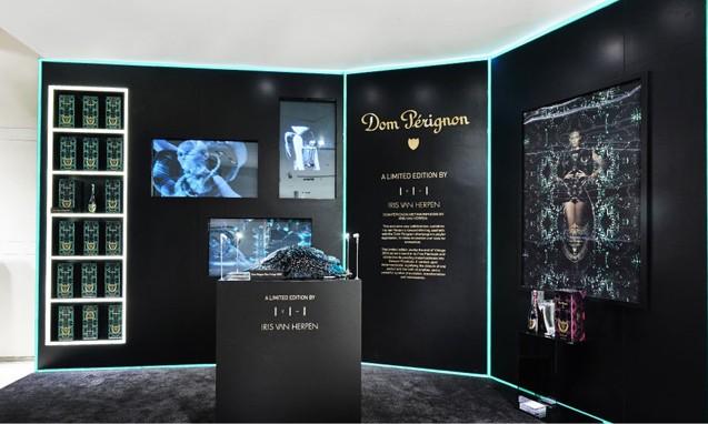 Dom Pérignon 携手设计师 Iris van Herpen 推出限量香槟礼盒