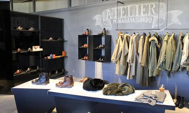 从工作室演变而来的 Atelier MIHARAYASUHIRO 店铺
