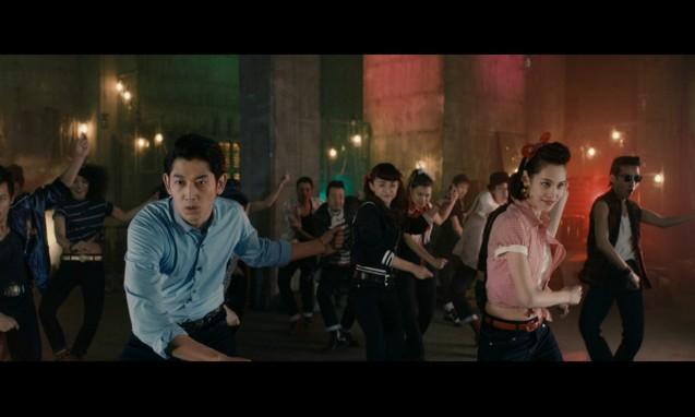瑛太与水原希子合作拍摄 EDWIN JERSEYS 系列 2015 年广告影片