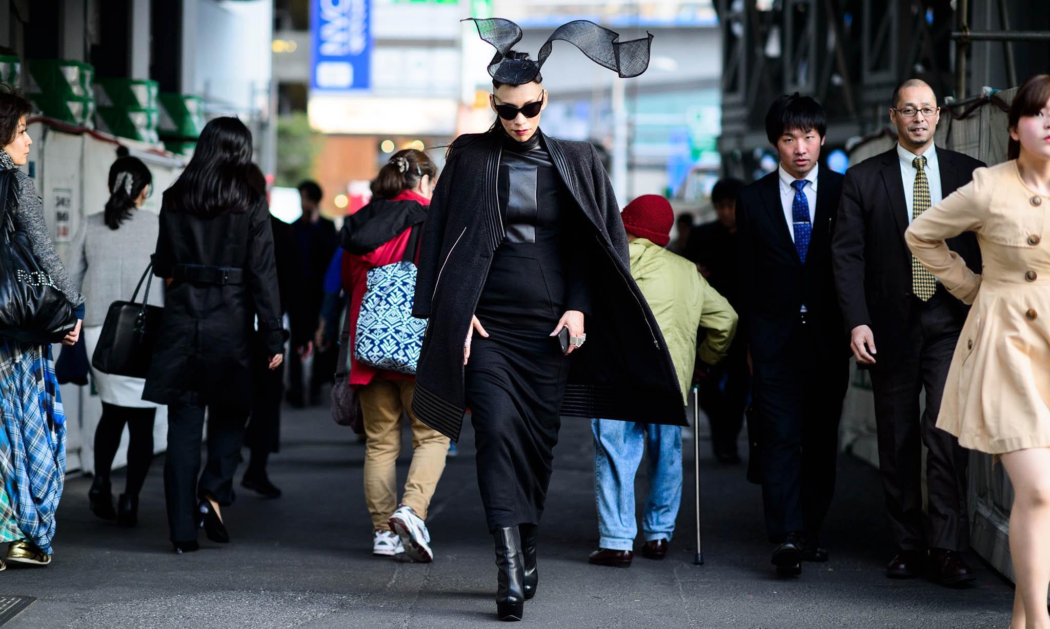 2015 东京时装周街拍集锦第一辑