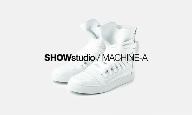 SHOWstudio x Machine-A 共同创立全新线上商店