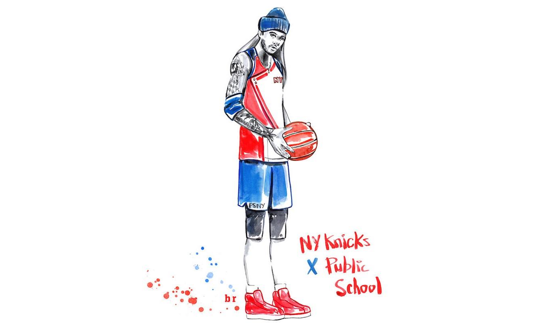 渴望实现的白日梦,Meagan Morrison 打造奢华 NBA 队服插画