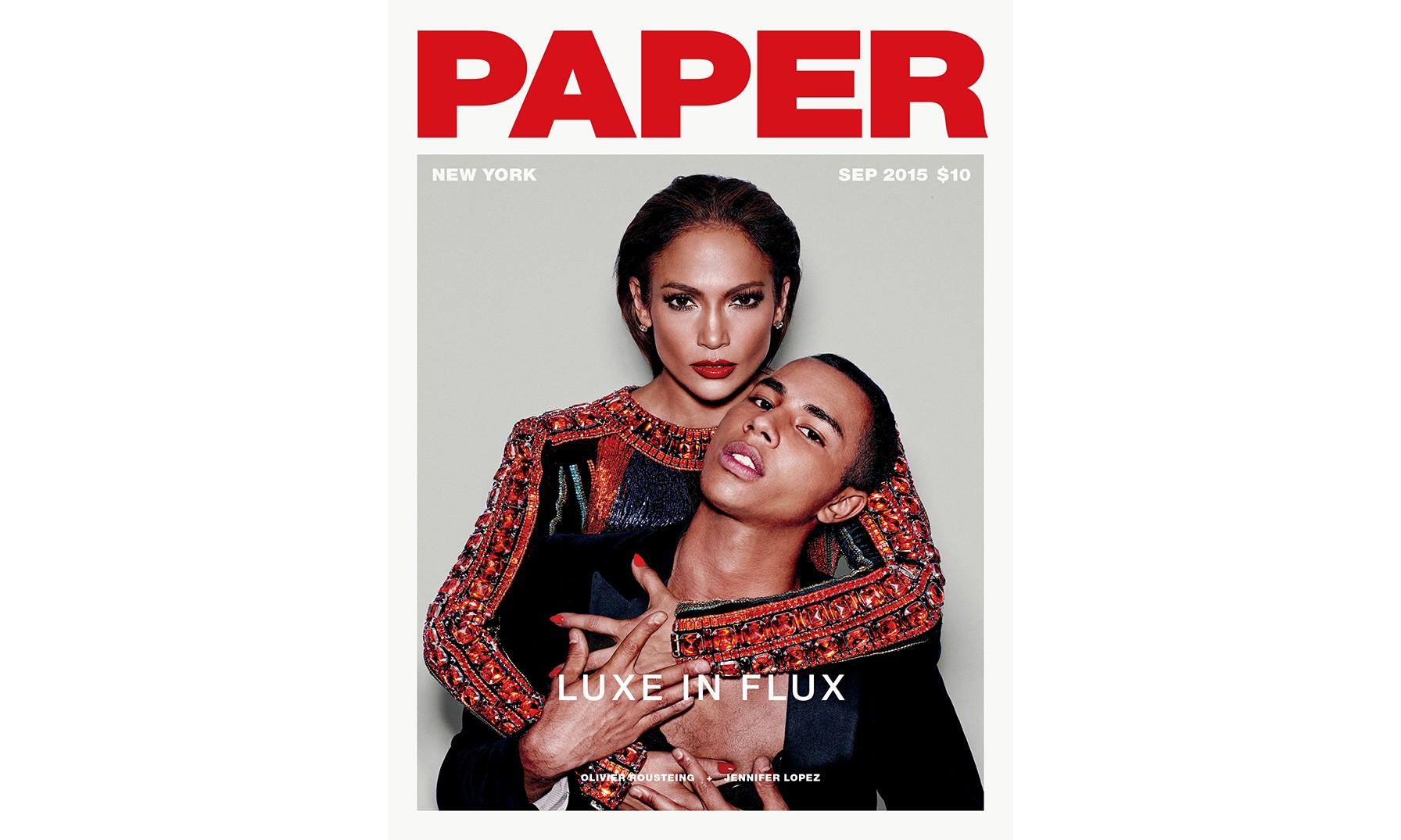 纽约时尚杂志《PAPER》9 月刊封面欣赏