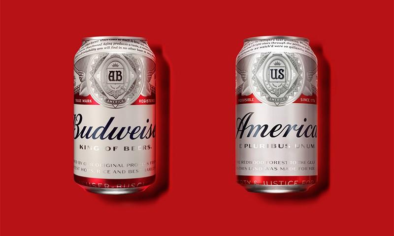 Budweiser 推出夏日限定版啤酒包装