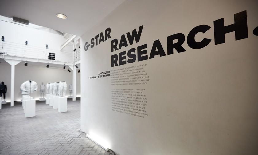 G-Star RAW Research. 亮相巴黎时装周
