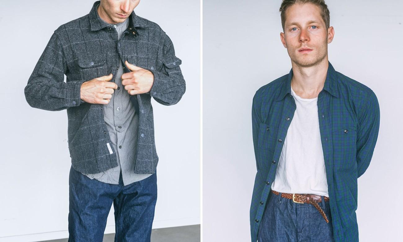 格纹元素注入,Engineered Garments x The Woodlands 联名系列发布