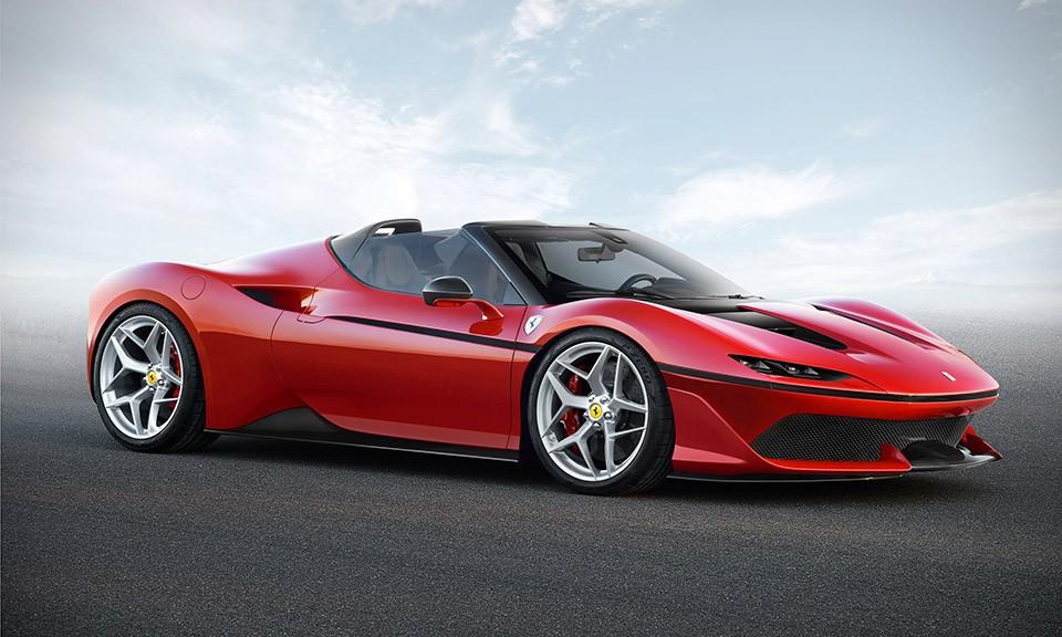 限量仅 10 台,Ferrari J50 实车发布