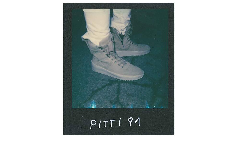 "Andrea 的 ""宝丽来 x 球鞋"" 特辑:Pitti Uomo 时装周"