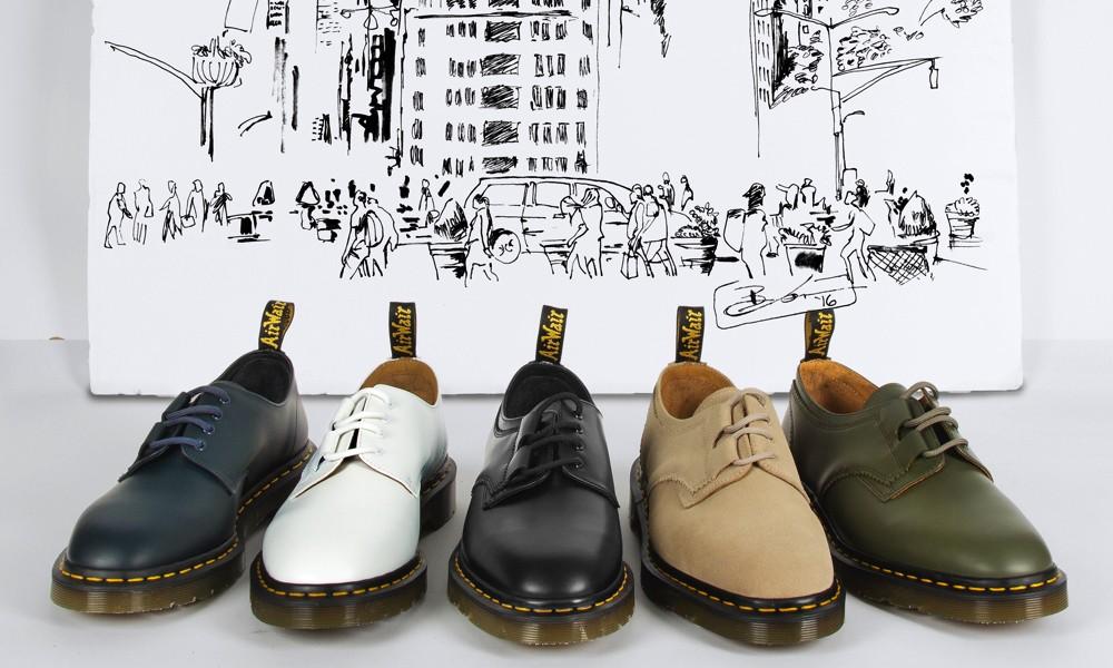 DR.MARTENS x ENGINEERED GARMENTS 1461 联名鞋款